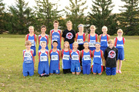 GC MS Cross Country Team