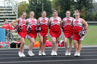 Colfax FB Cheerleaders